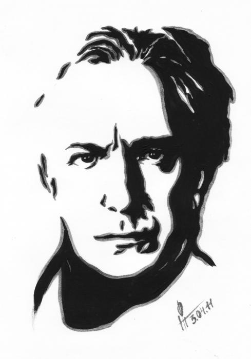 Alan Rickman by Dory21
